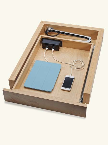 docking drawer to power electronics out of sight illustrating The TOH TOP 100 Best New Home Products