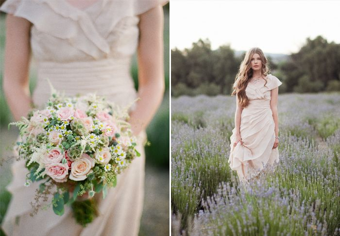lavender_ruche_15: Bridal Bouquets, Vintage Bouquets, Rustic Chic Wedding, Flowers Ideas, Bride S Bouquets, Ruched Bridal, Bridesmaid Bouquets, Vintage Flowers, Amazing Dresses