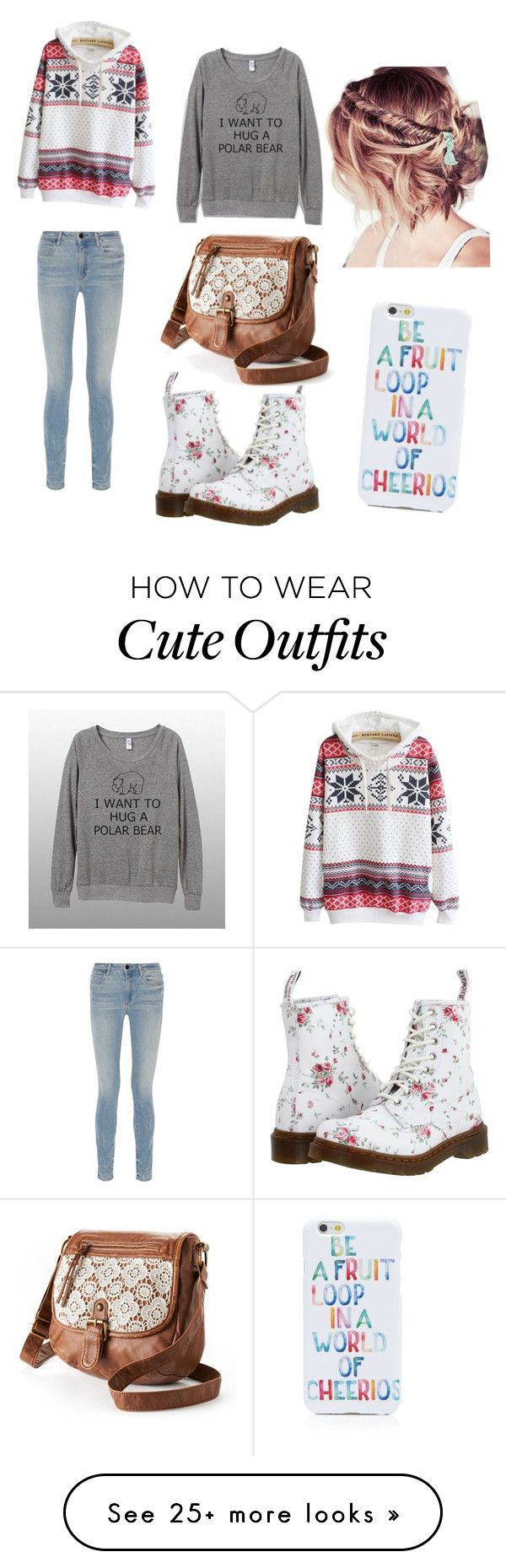 """""""Winter outfit"""" by disneylover9961 on Polyvore featuring Alexander Wang, Dr. Martens, OTM and Mudd"""