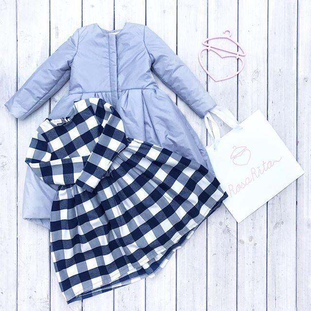 Собираясь на семейный зимний ужин так прекрасно нарядить свою малышку в клетчатое  платье из мягкой фланели , а себя в клетчатую рубашку.  Прекрасный Фемели лук  Рубашка и платье в  красную и синюю клетку осталась за кадром, но есть в наличии, фотографии всех оставшихся за кадром вещей высылаем в директ, what's app или viber