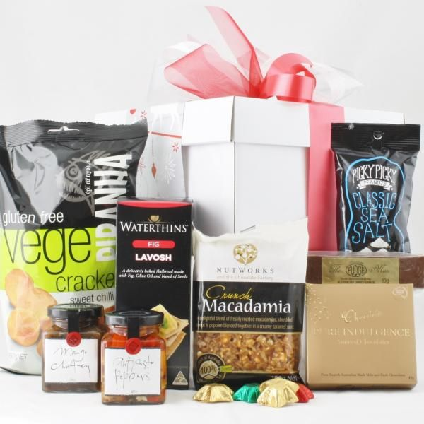 Snowflake Christmas Gift Baskets Gift Hampers Food Gifts