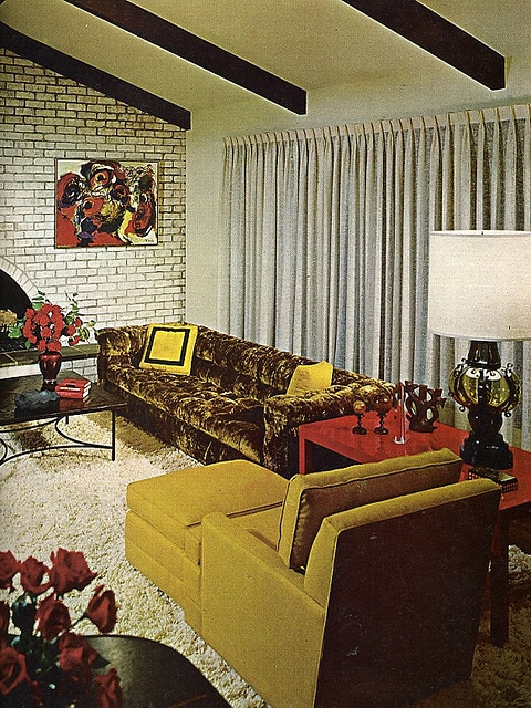 Good Decorating - Mustard Living Room by MikeLove, via Flickr
