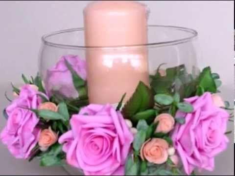 Розы из фоамирана - YouTube