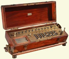 Arithmometer - the first commercial mechanical calculator