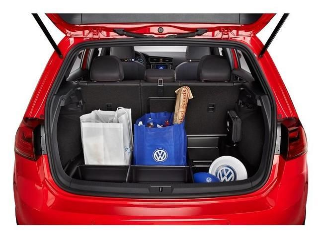 Volkswagen Golf Cargo Organizer Black Cargo Organizer Transport Tray Trunk 5g0061162 Genuine Volkswagen Accessory Vw Accessories Volkswagen Volkswagen Golf