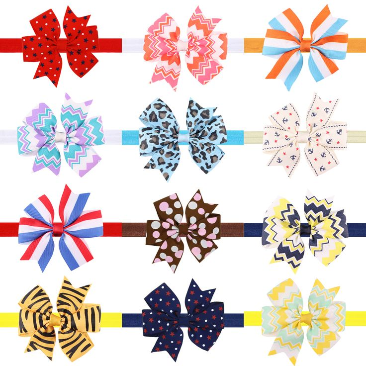 >> Click to Buy << 3 Inch Cute Kids headband Kids Chiffon Bowknot Headbands Hair Bows Hair Band Accessories HairBand HC079 #Affiliate