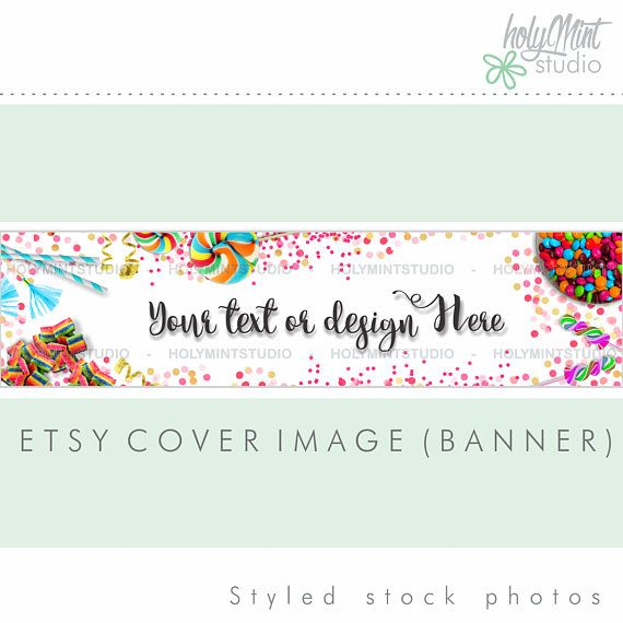 PArty Etsy Banner by www.HolyMintStudio.Etsy.com