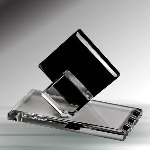 Siyah Diamond Kristal Kartvizitlik - KRİSTAL ÜRÜNLER - Durbuldum.com - durbuldum