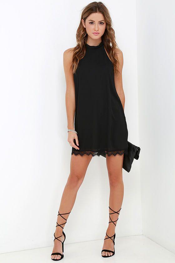 Tal Admiración Vestido de encaje Negro en Lulus.com!