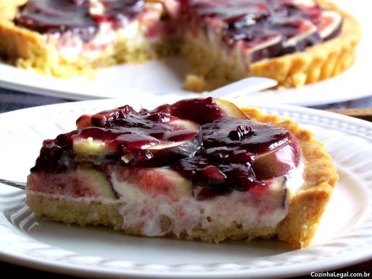 Como fazer Torta de figo com iogurte grego | cozinhalegal.com.br