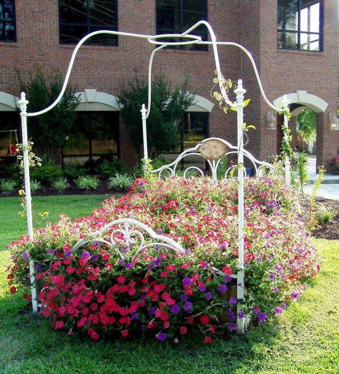 Gartenideen Zum Selber Machen Gebrauchtes Bett