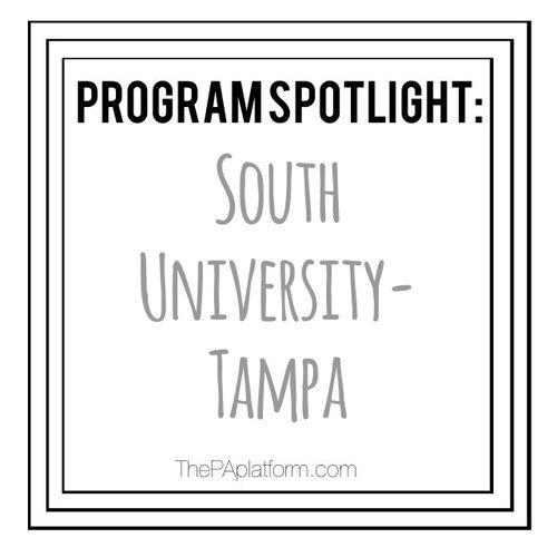 The PA Platform - Program Spotlight: South University (Tampa)