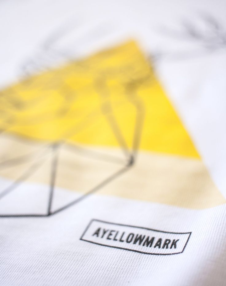 """🇬🇧 From a creative ideas born creative project. So is born the Ayellowmark T-shirt   The style to expressyourself 😎 The T-shirt are totally MADE IN ITALY and the quality of material and print is veryhigh. Technical info: White fabric is 170 g/m named """"Eusebio"""",..."""