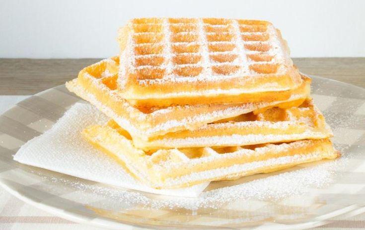 Recette Gaufres sans gluten et sans lactose