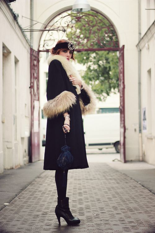 The 20's are my obsession....I have a feeling I could rock this coat