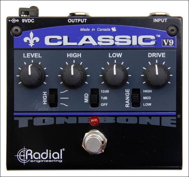 Radial Engineering Tonebone Classic Guitar Distortion EFFECTS PEDAL 676101035939   eBay