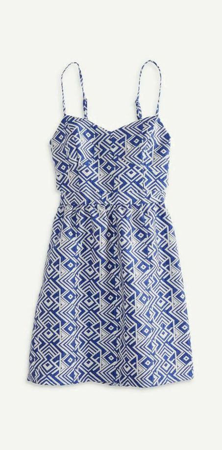 American Eagle Outfitters AE Cutout Jacquard Sundress -- may be a little old to shop at AE, but it's still cute!