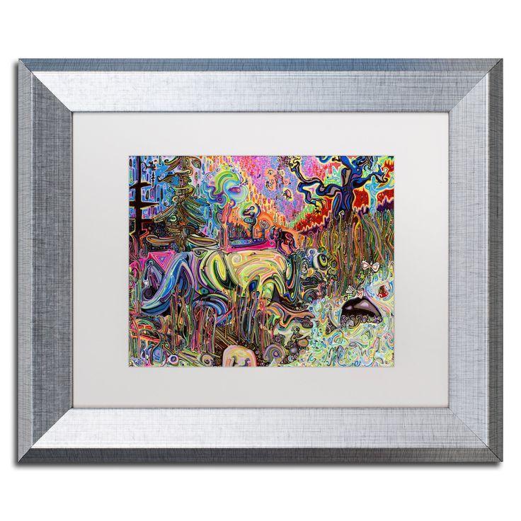 Josh Byer 'Water' Matted Framed Art