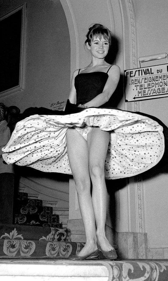 Brigitte Bardot At The Cannes Film Festival, 1956 ❤