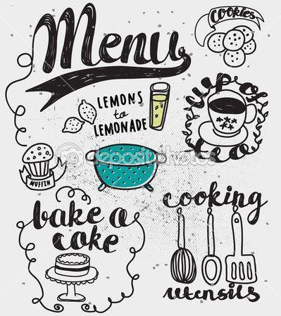 cibo disegnato - Cerca con Google