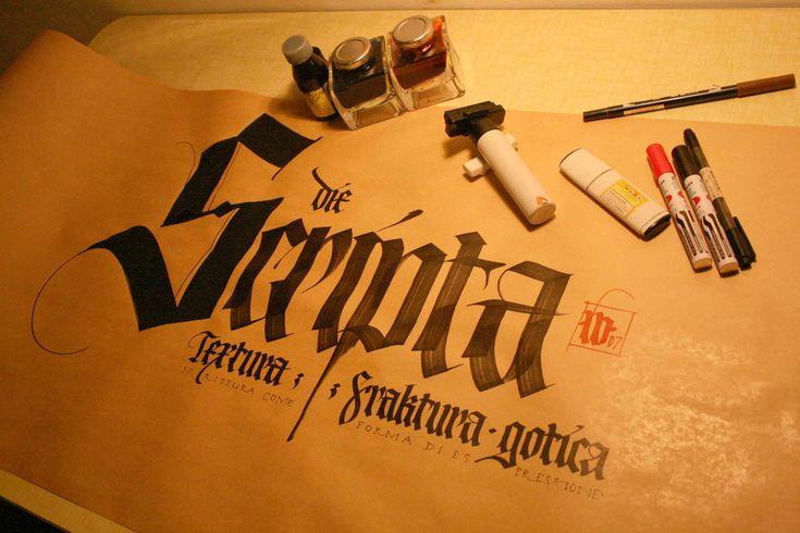 die besten 17 bilder zu caligrafia lettering auf. Black Bedroom Furniture Sets. Home Design Ideas