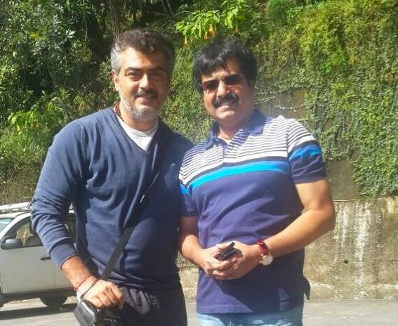 Ajith and team in Sikkim