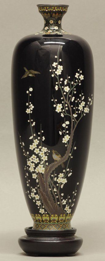 cloisonne vases from meji period - Bing Images
