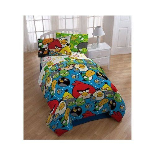 Kids' Comforters - Angry Birds Comforter Twin  Full Size *** More info could be found at the image url.