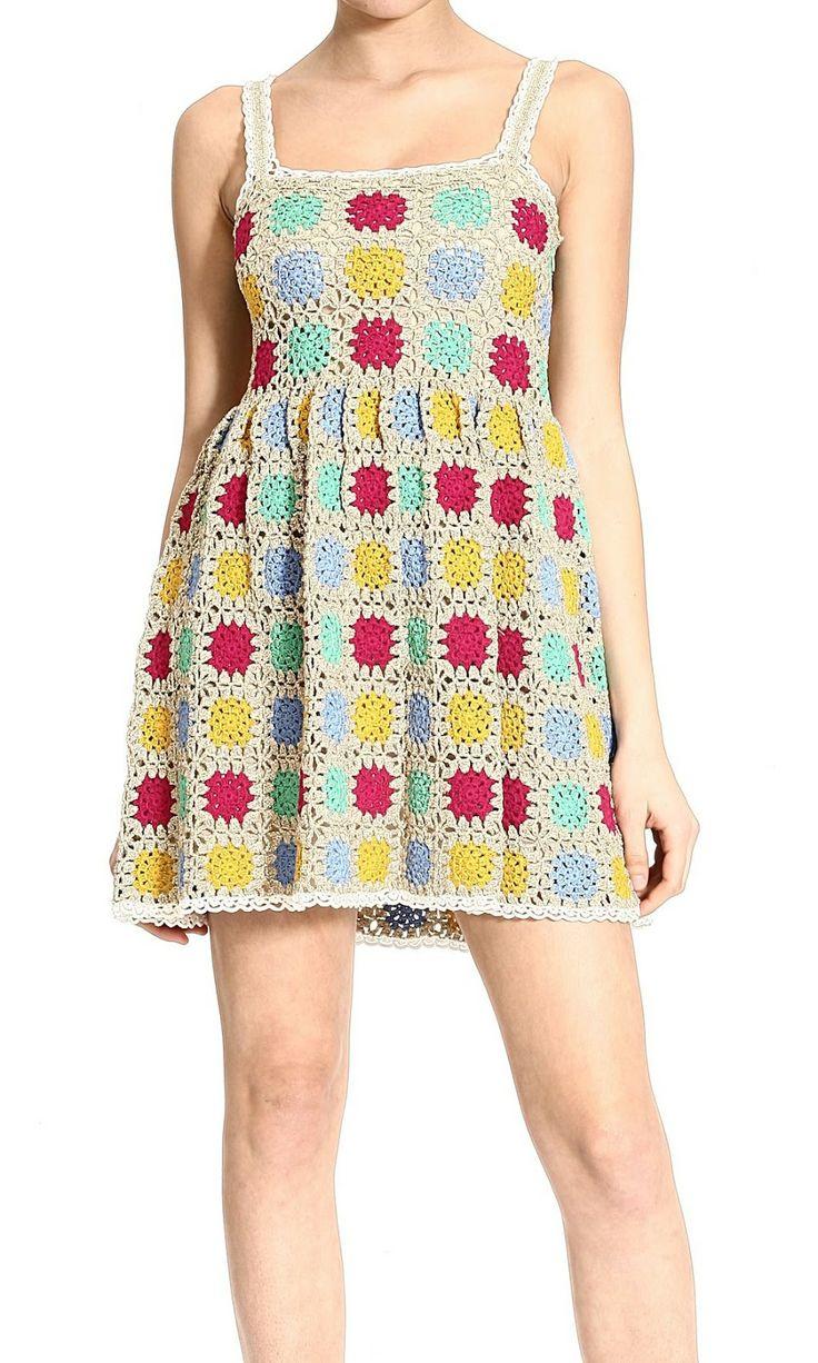 Cute Granny squares dress :)