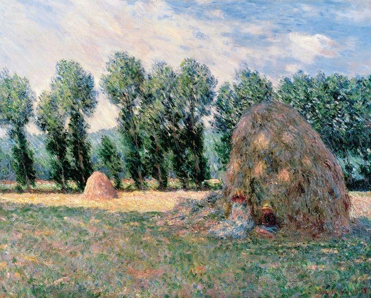 La Meule de foin (C Monet - W 994),1885.