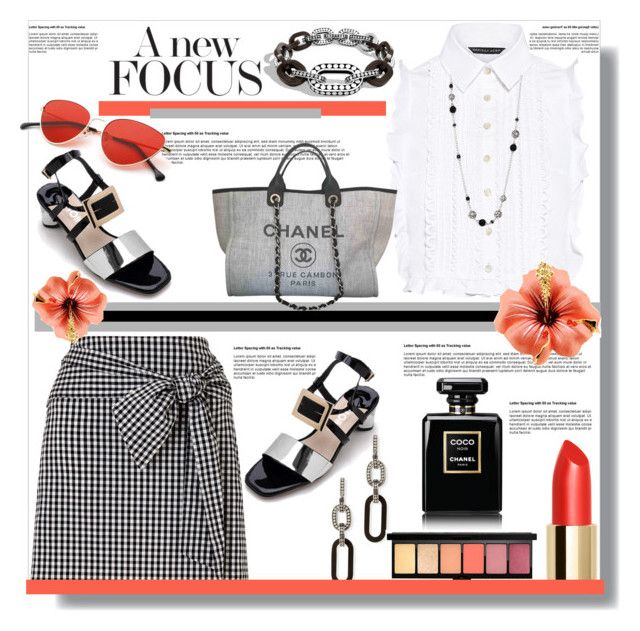 """""""A New Focus"""" by helenaymangual ❤ liked on Polyvore featuring Miss Selfridge, Marissa Webb, John Hardy and Chanel"""