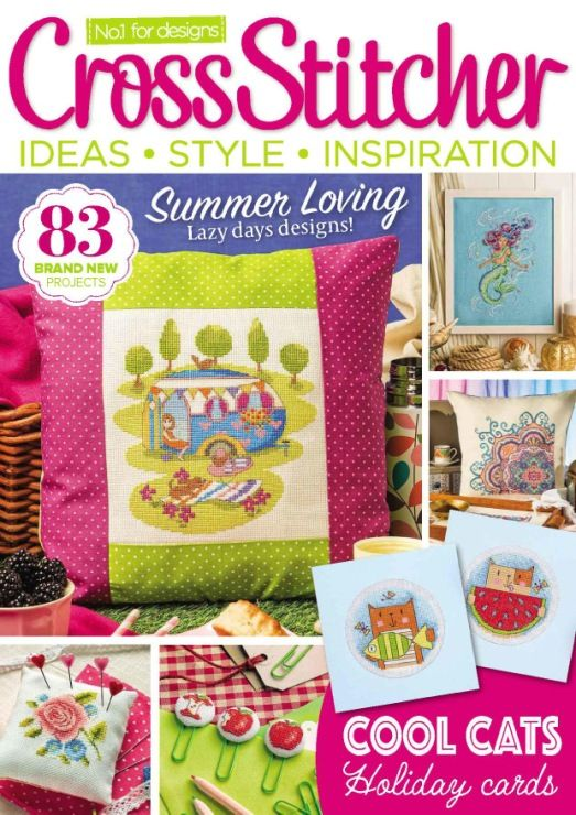 Cross Stitcher Magazine - August 2016 308 - CrossStitcher