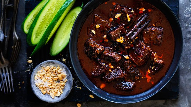 Braising the standards: Cinnamon and chilli beef.