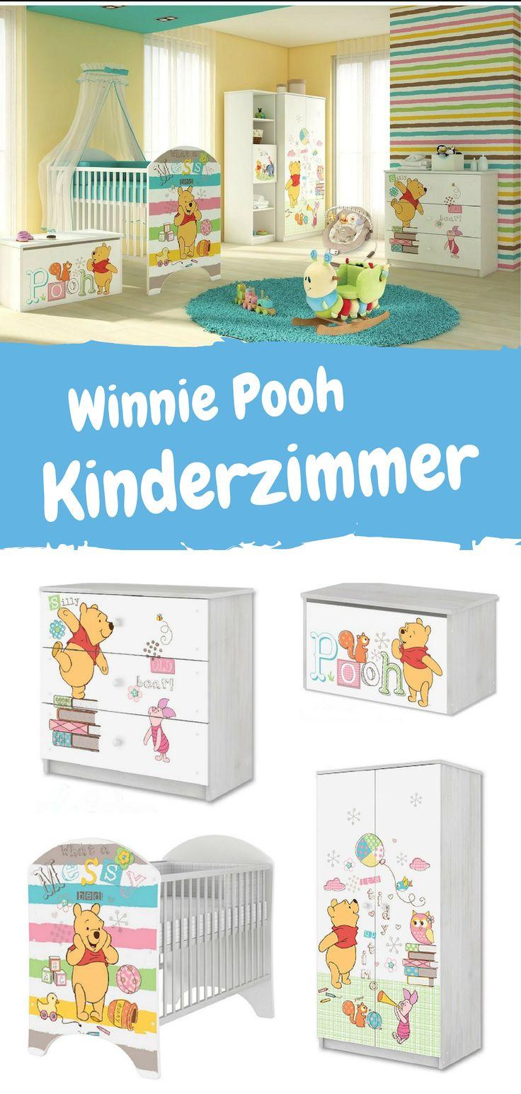 Winnie Pooh Kinderzimmer Set. Möbel für das Kinderzimmer