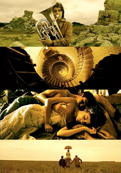 A Very Long Engagement I love this storytelling french movie..and that yellow shade of cinematography in the whole story..it makes feeling of eternal sun..very atmospheric