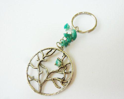 strom života - přívěšek na klíče, kabelku....