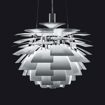 Ph artichoke suspension light by louis poulsen modern lighting suspensionlight