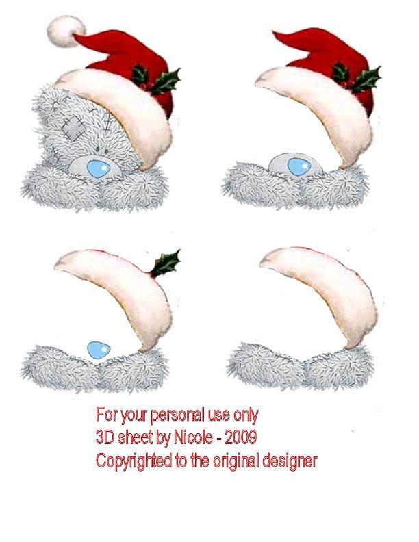 Christmas decoupage
