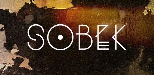 Sobek – Experimental and Futuristic Font
