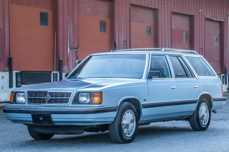 No Reserve 27k Mile 1988 Dodge Aries K Le Station Wagon In 2020