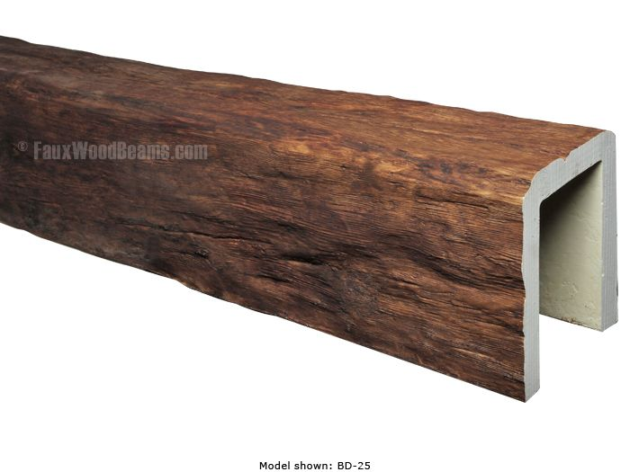 Faux beams for awesome ceilings for half the price for Half vaulted ceiling with beams