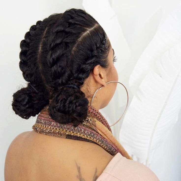 Protective Hairstyles For Natural Hair chic protective style Find This Pin And More On Hair And Beauty By Erikakanne