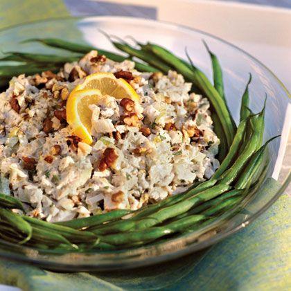 Lemon-Tarragon Chicken Salad. use less mayo and no celery. serve as ...