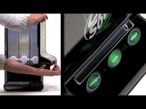 Instructievideo Cup-a-Soup Mini automaat. In deze how to video laten we zien hoe je een soepnummer in kunt stellen en de smaakkaarten kunt verwisselen.