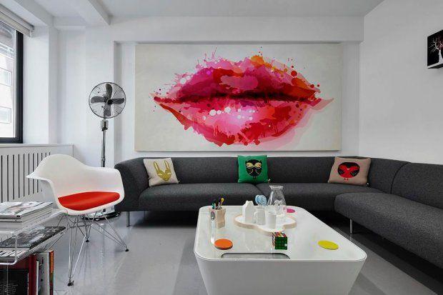 Fototapeta lateksowa Sweet Lips, 90 zł za metr kw., Pixers