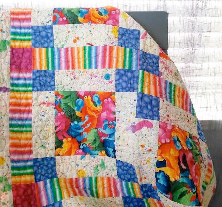 "FREE PATTERN! Download this sweet ""Children's Delight"" baby-quilt pattern for free when you sign in or register at ShopMartingale."