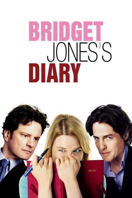 """Bridget Jones's Diary (El Diario de Bridget Jones) Esta exitosa película basada en la novela de Helen Fielding, nos narra la vida del día a día de Bridget Jones (Renée Zellweger) siendo una """"solterona""""."""