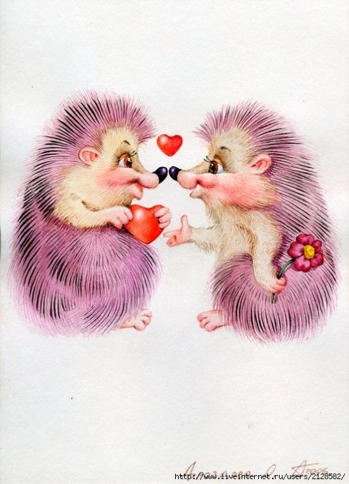 Картинки поцелуев влюбленных прикольные
