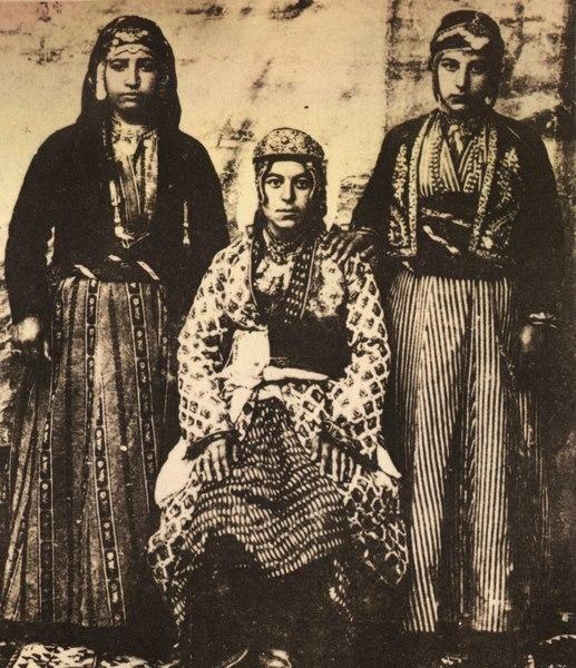 Malatyalı üç Ermeni kadın