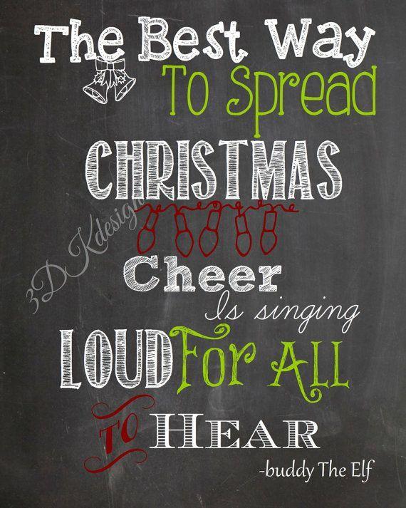 Buddy The Elf Quotes Singing. QuotesGram